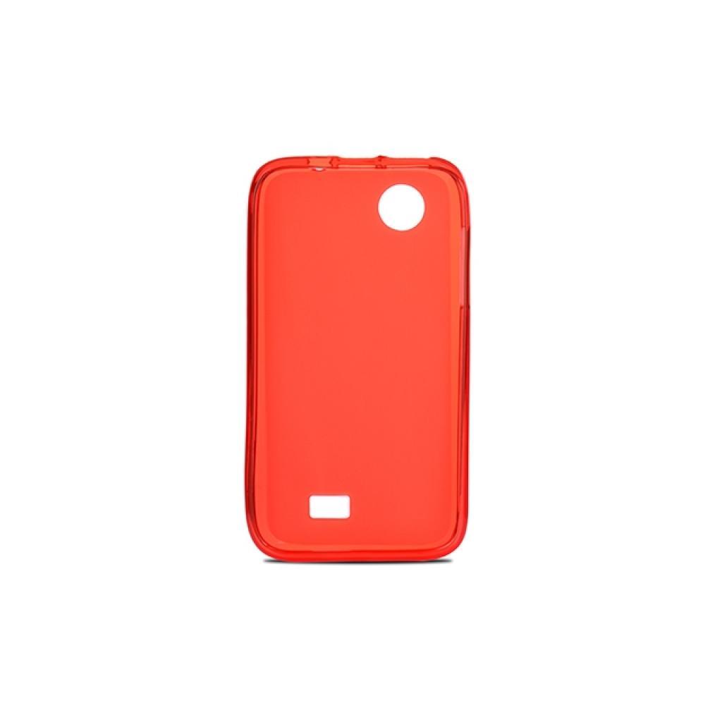 Чехол для моб. телефона Drobak для Lenovo A369 /Elastic PU/ Red Clear (211450) изображение 2