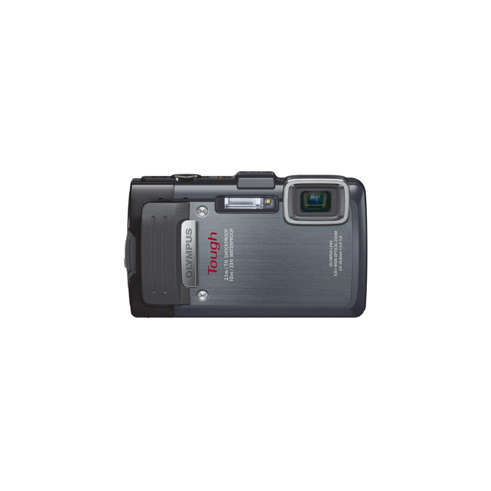 Цифровой фотоаппарат OLYMPUS TG-835 Black (Waterproof - 10m; GPS) (V104131BE000) изображение 2