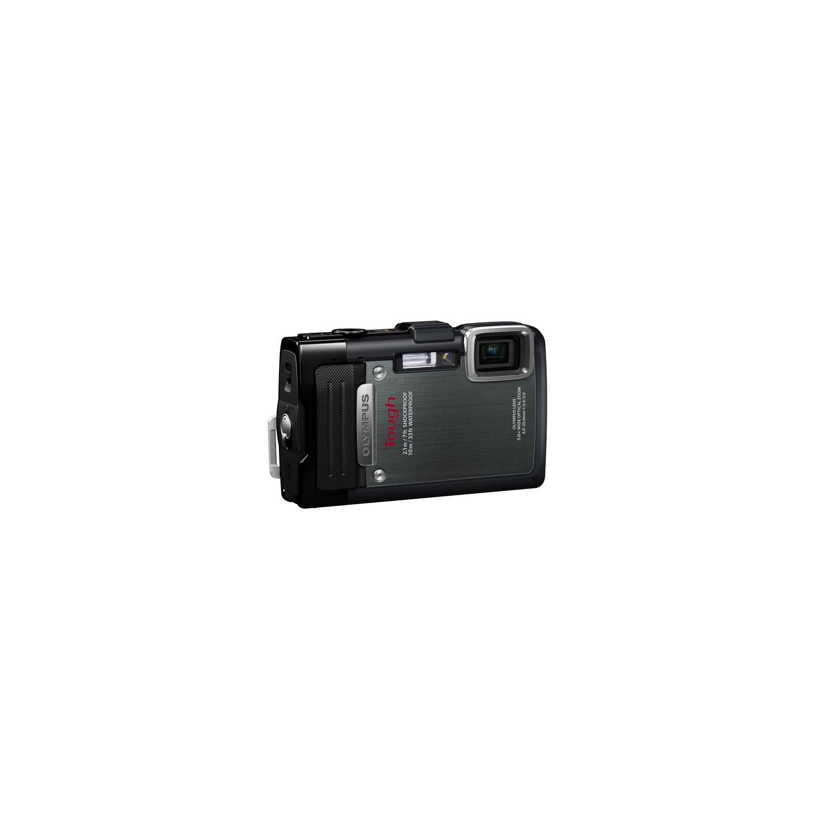 Цифровой фотоаппарат OLYMPUS TG-835 Black (Waterproof - 10m; GPS) (V104131BE000) изображение 3