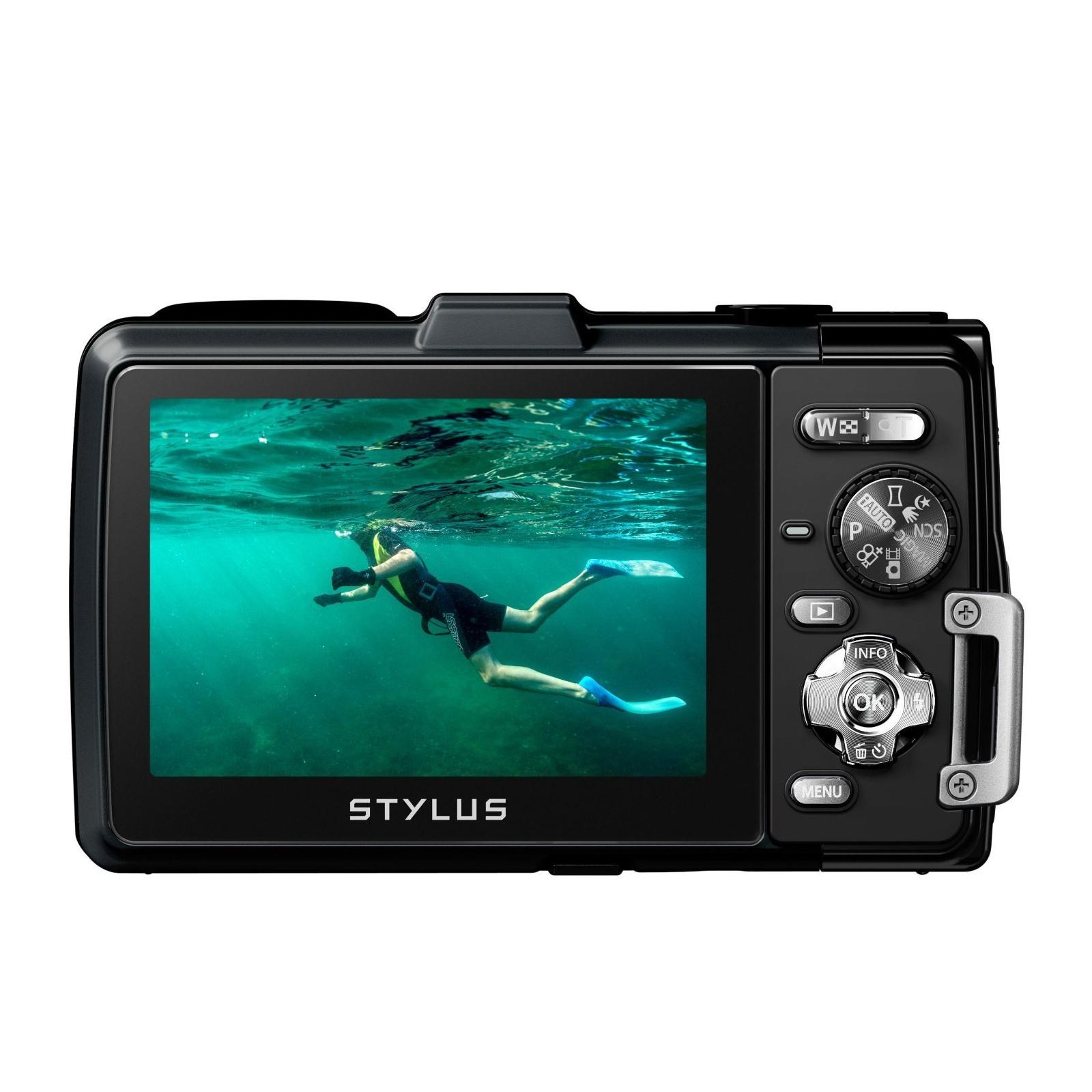 Цифровой фотоаппарат OLYMPUS TG-835 Black (Waterproof - 10m; GPS) (V104131BE000) изображение 4
