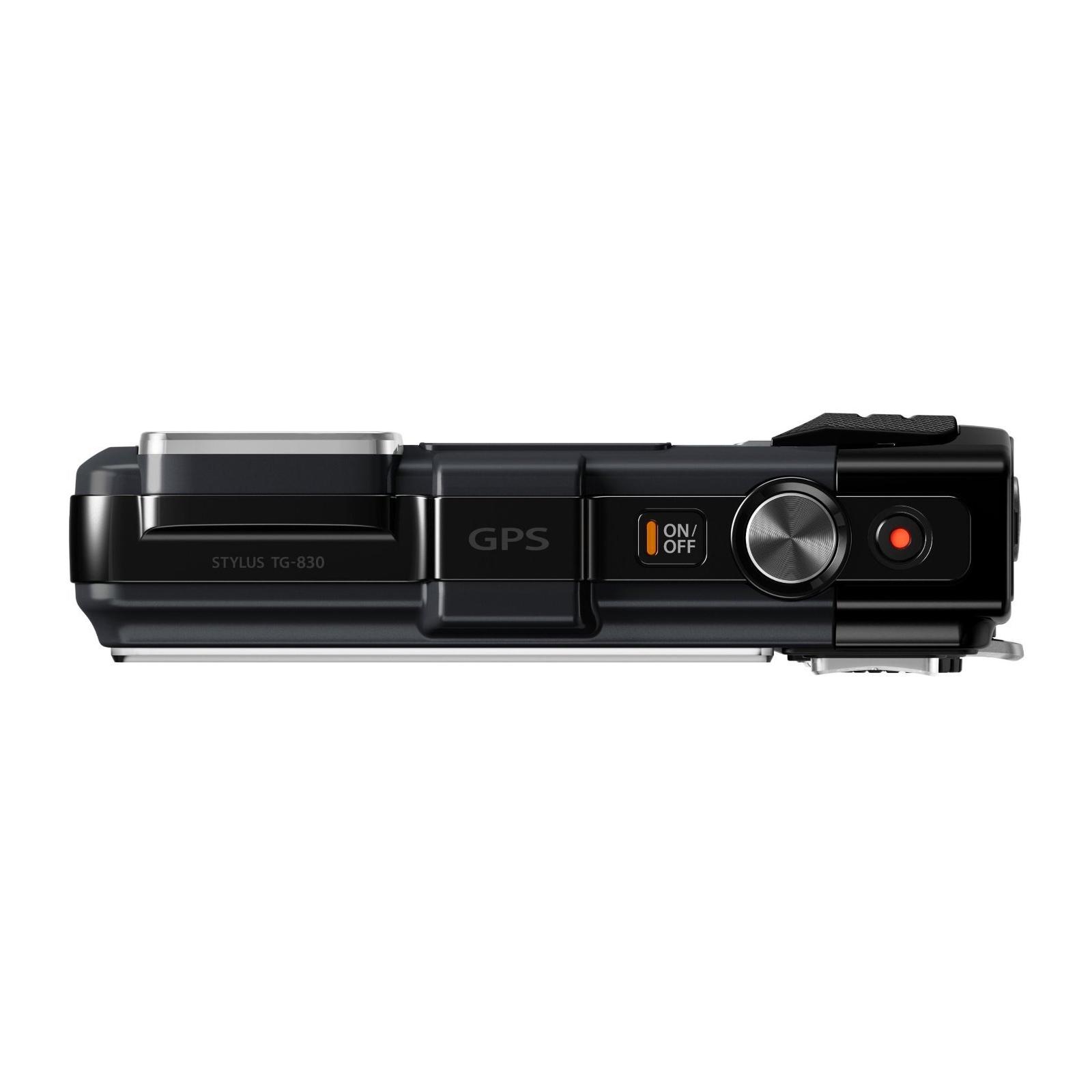 Цифровой фотоаппарат OLYMPUS TG-835 Black (Waterproof - 10m; GPS) (V104131BE000) изображение 5
