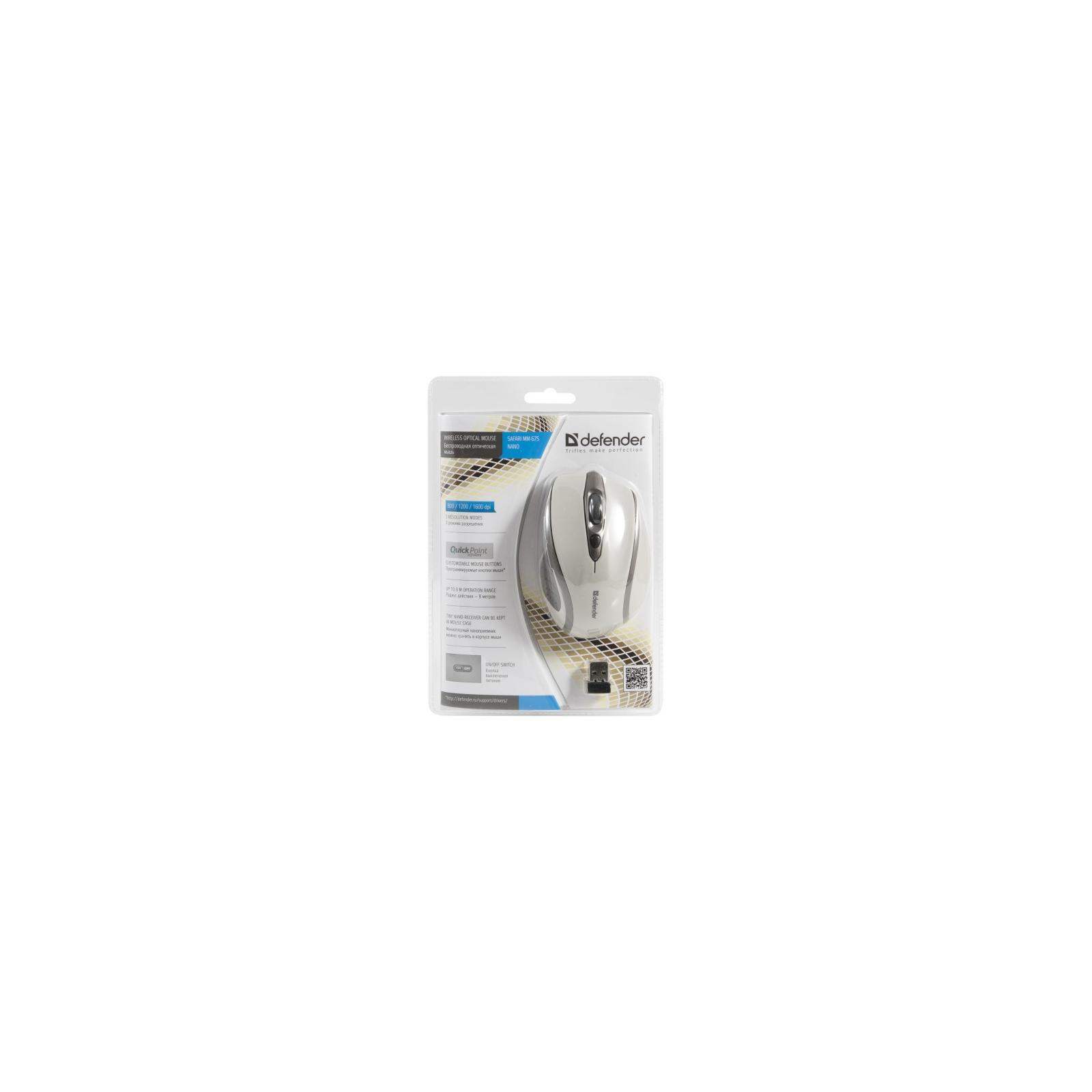 Мышка Defender Safari MM-675 Nano (52677) изображение 4