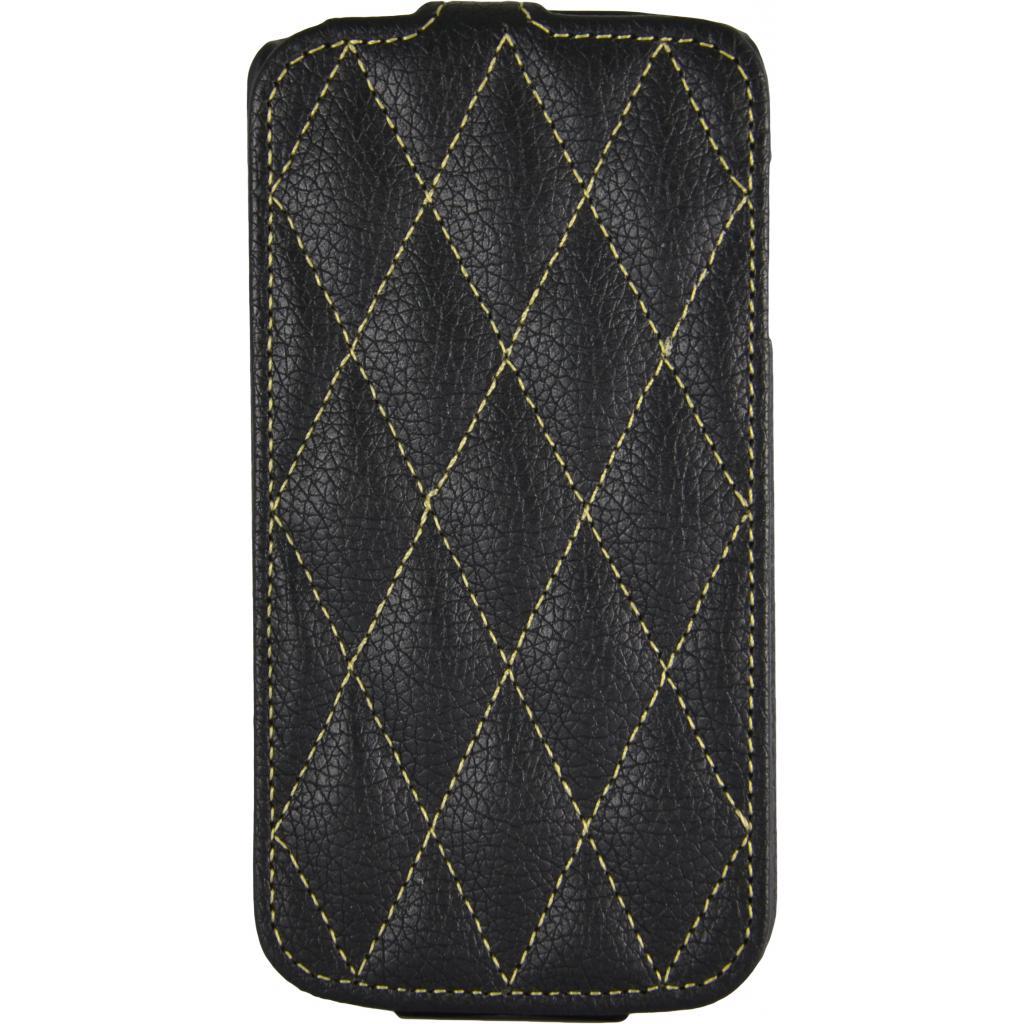 Чехол для моб. телефона Carer Base Lenovo A770e black grid (Carer Base lenovoA770blgr)