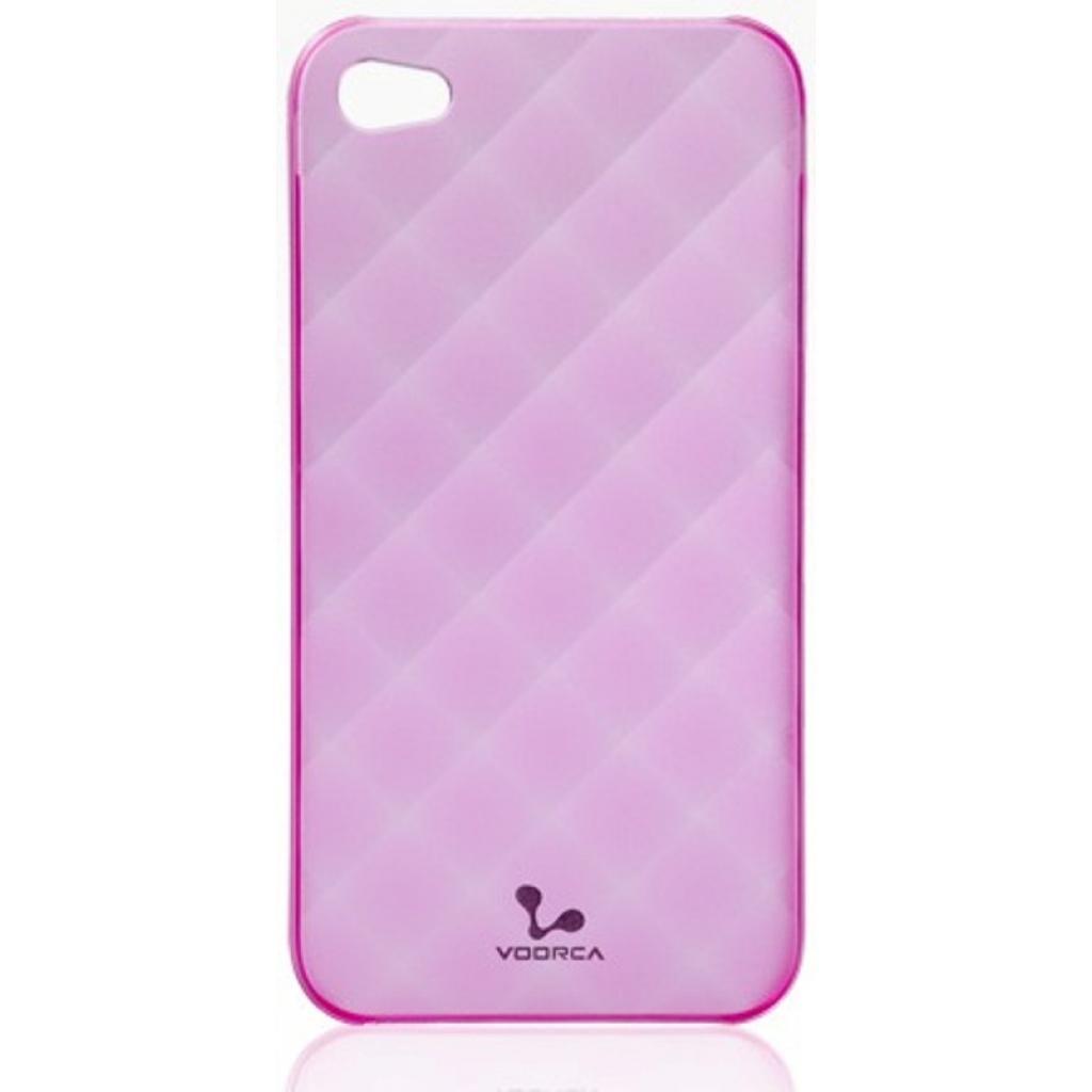 Чехол для моб. телефона VOORCA iPhone4 Fantasy case черв (V-4M red)