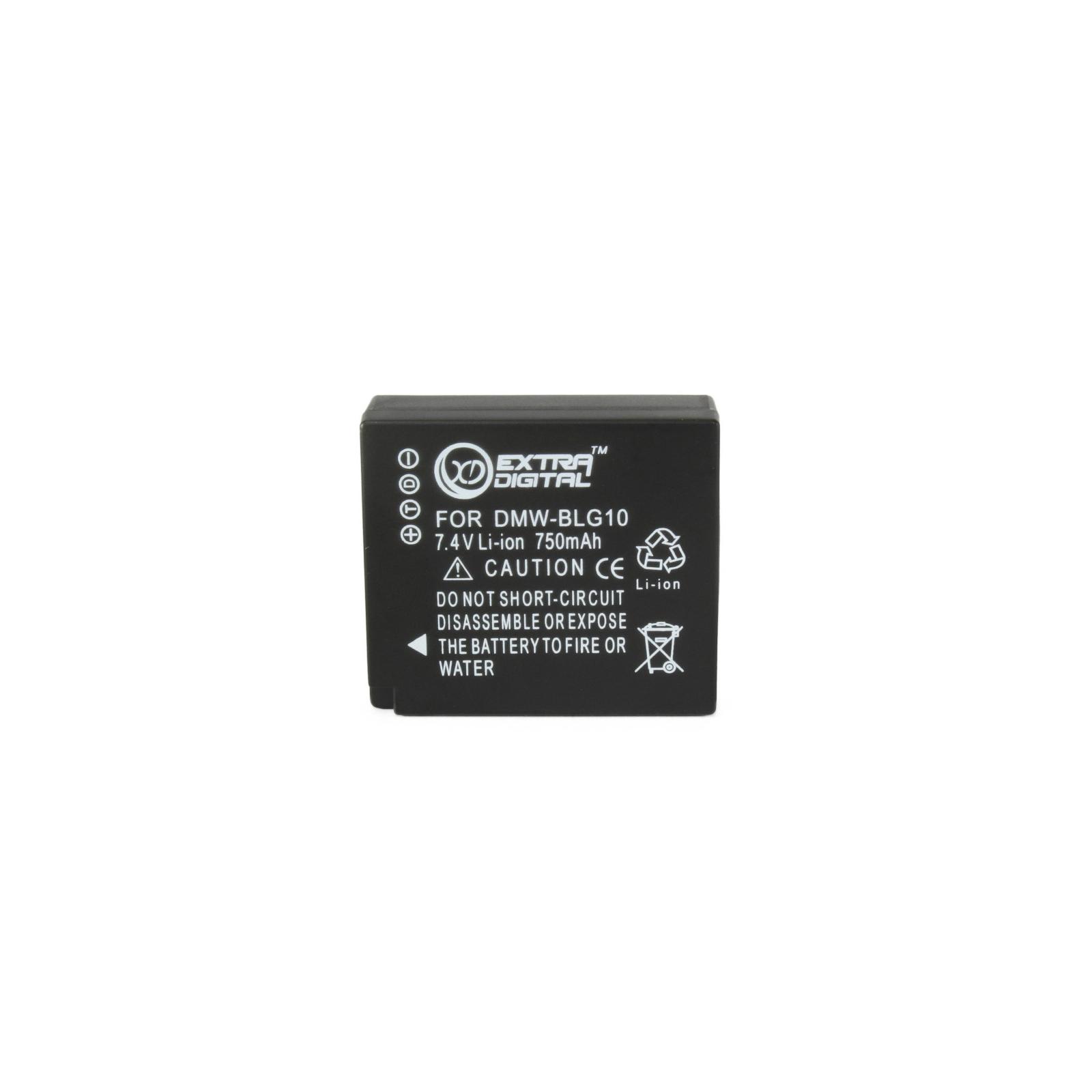 Аккумулятор к фото/видео EXTRADIGITAL Panasonic DMW-BLG10 (BDP1293)