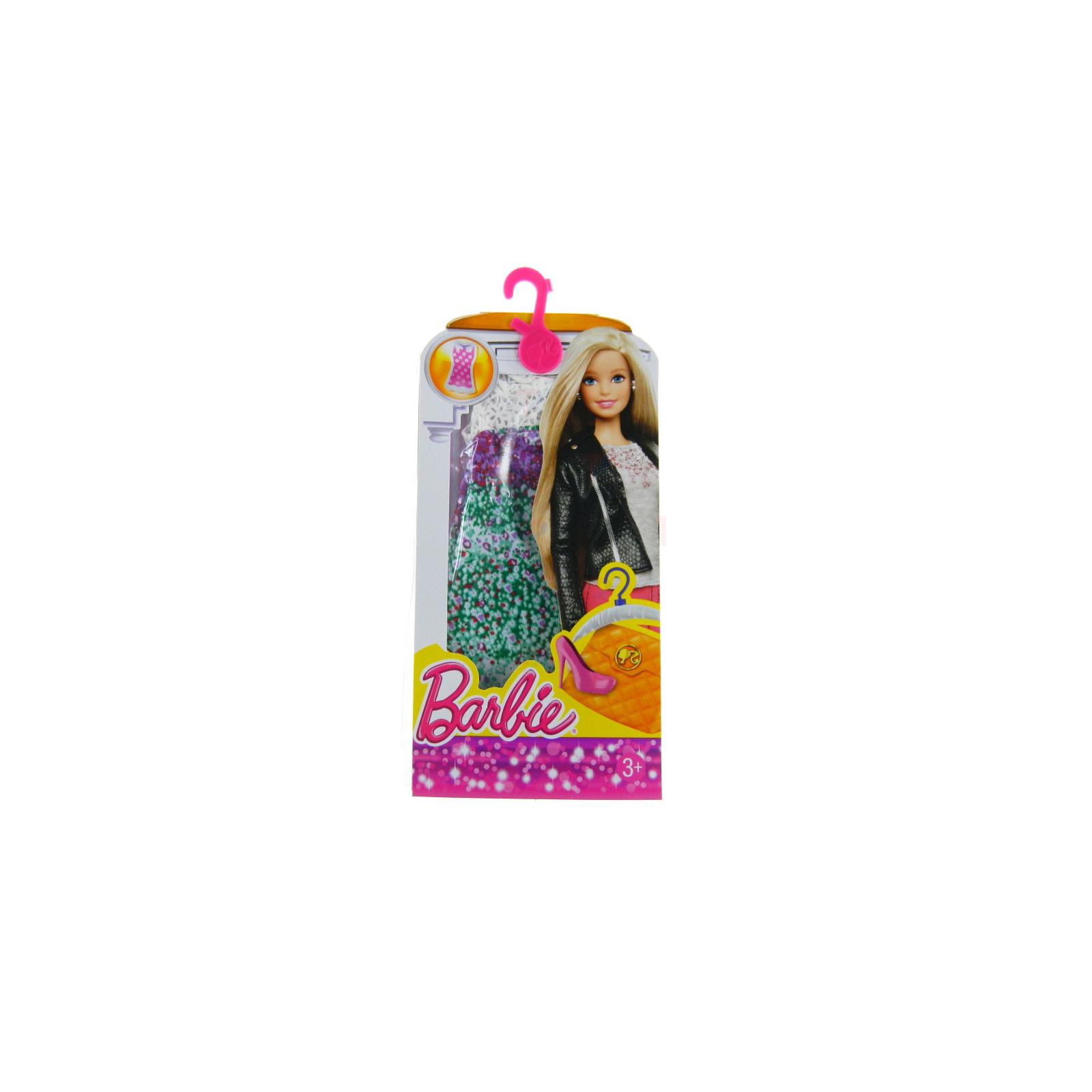 Аксессуар к кукле BARBIE Пестрое платье (CFX65-4) изображение 2