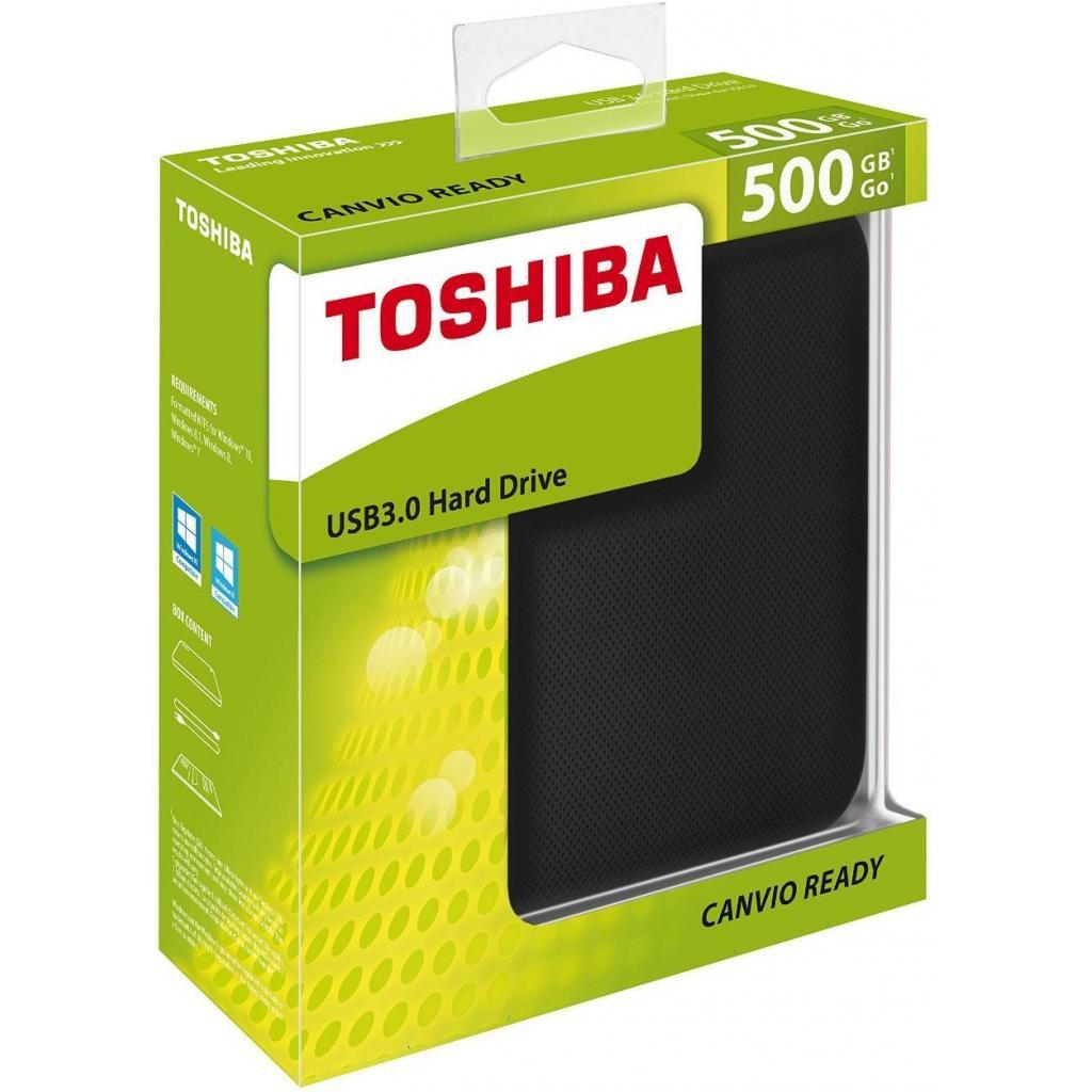 """Внешний жесткий диск 2.5"""" 500GB TOSHIBA (HDTP205EK3AA) изображение 5"""