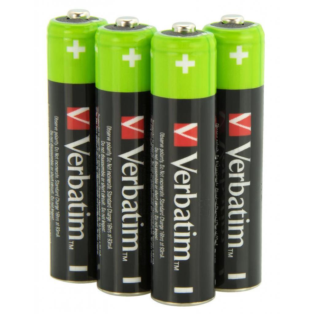 Аккумулятор Verbatim AAA 1000mAh * 4 (49942) изображение 2
