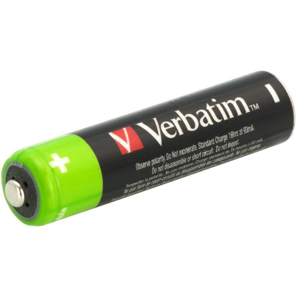 Аккумулятор Verbatim AAA 1000mAh * 4 (49942) изображение 3
