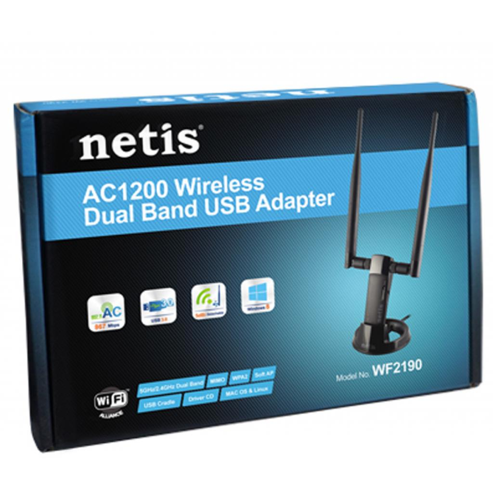 Сетевая карта Wi-Fi Netis WF2190 изображение 5