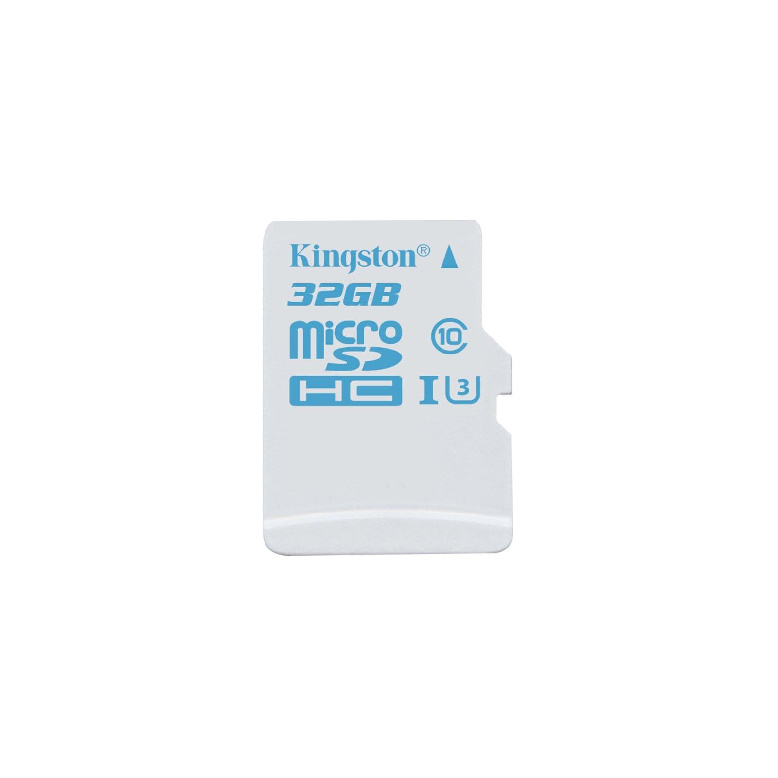 Карта памяти Kingston 32GB microSDHC class 10 UHS-I U3 (SDCAC/32GBSP)