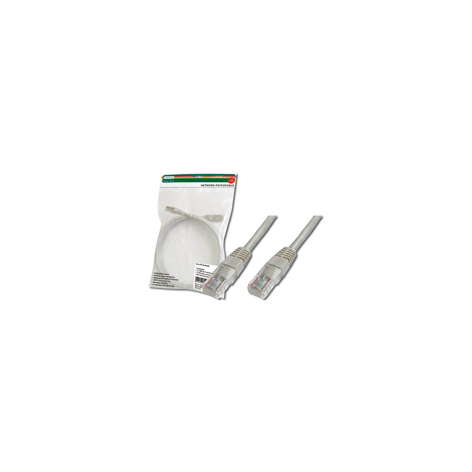 Патч-корд DIGITUS 3м, CAT 6 UTP, AWG 26/7, PVC (DK-1614-030)
