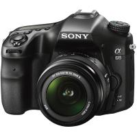 Цифровой фотоаппарат SONY Alpha A68 kit 18-55mm Black (ILCA68K.CEC)