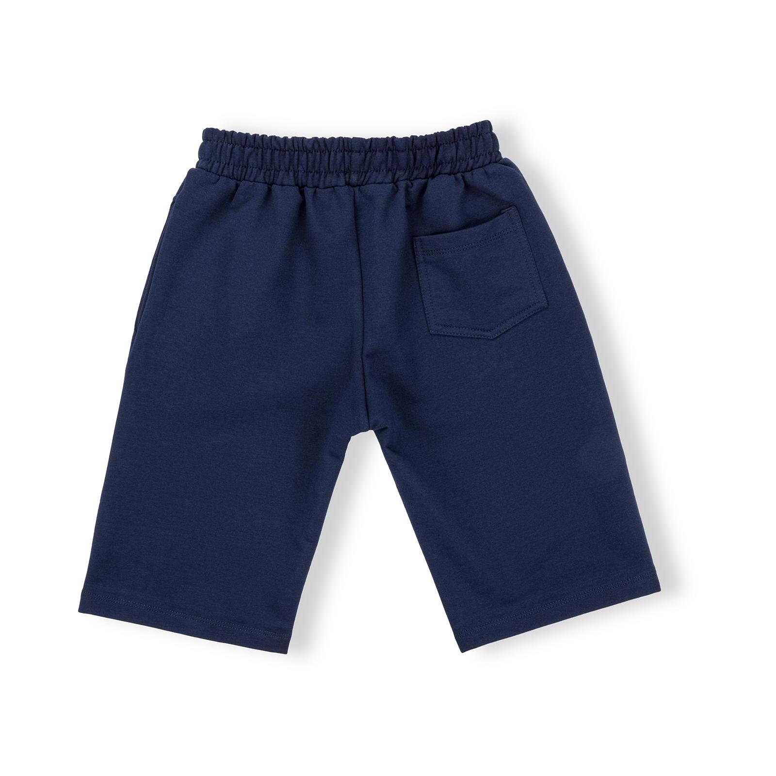 Шорты Breeze трикотажные с карманами (10755-164B-blue) изображение 2