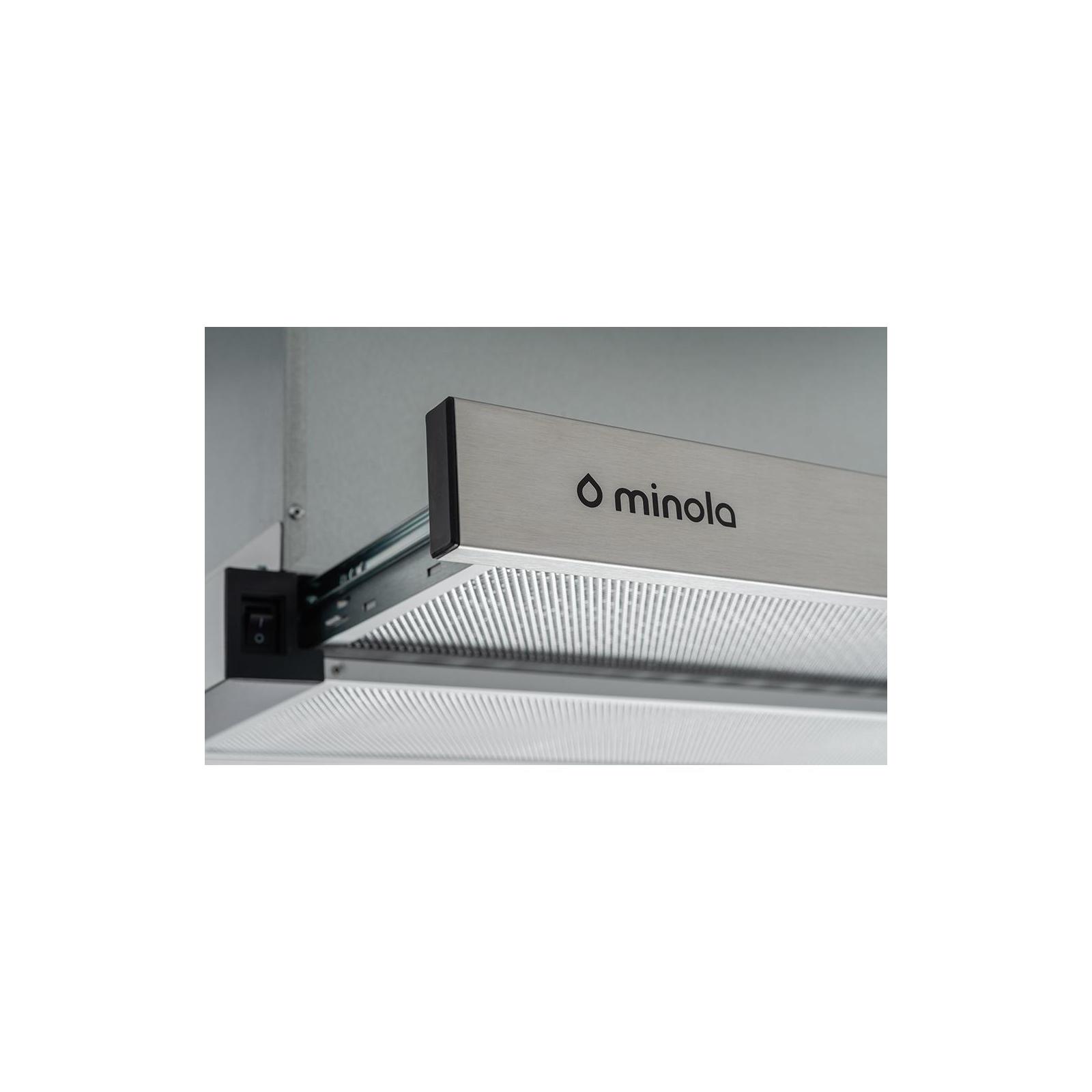 Вытяжка кухонная MINOLA HTL 6612 I 1000 LED изображение 4