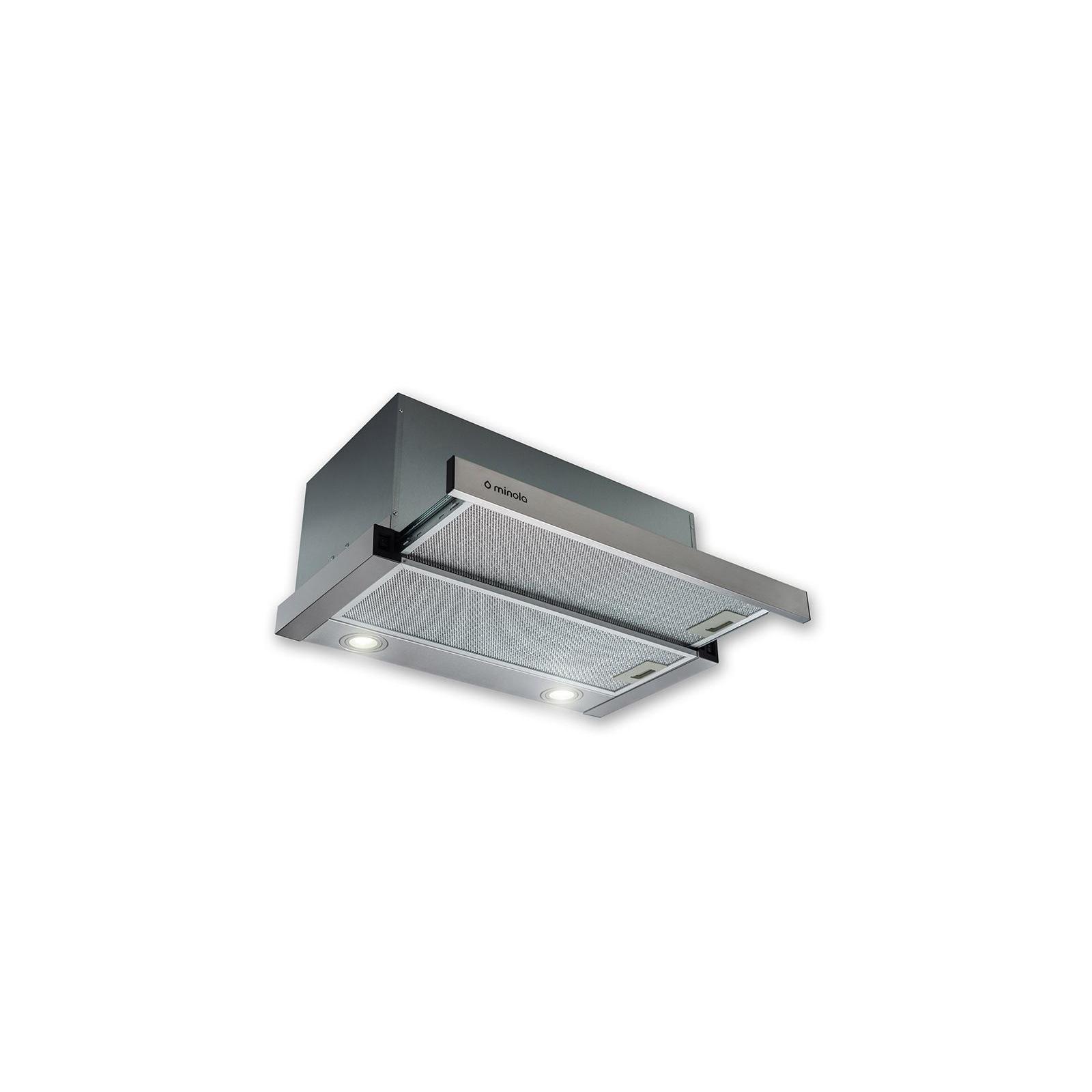 Вытяжка кухонная MINOLA HTL 6612 I 1000 LED изображение 6