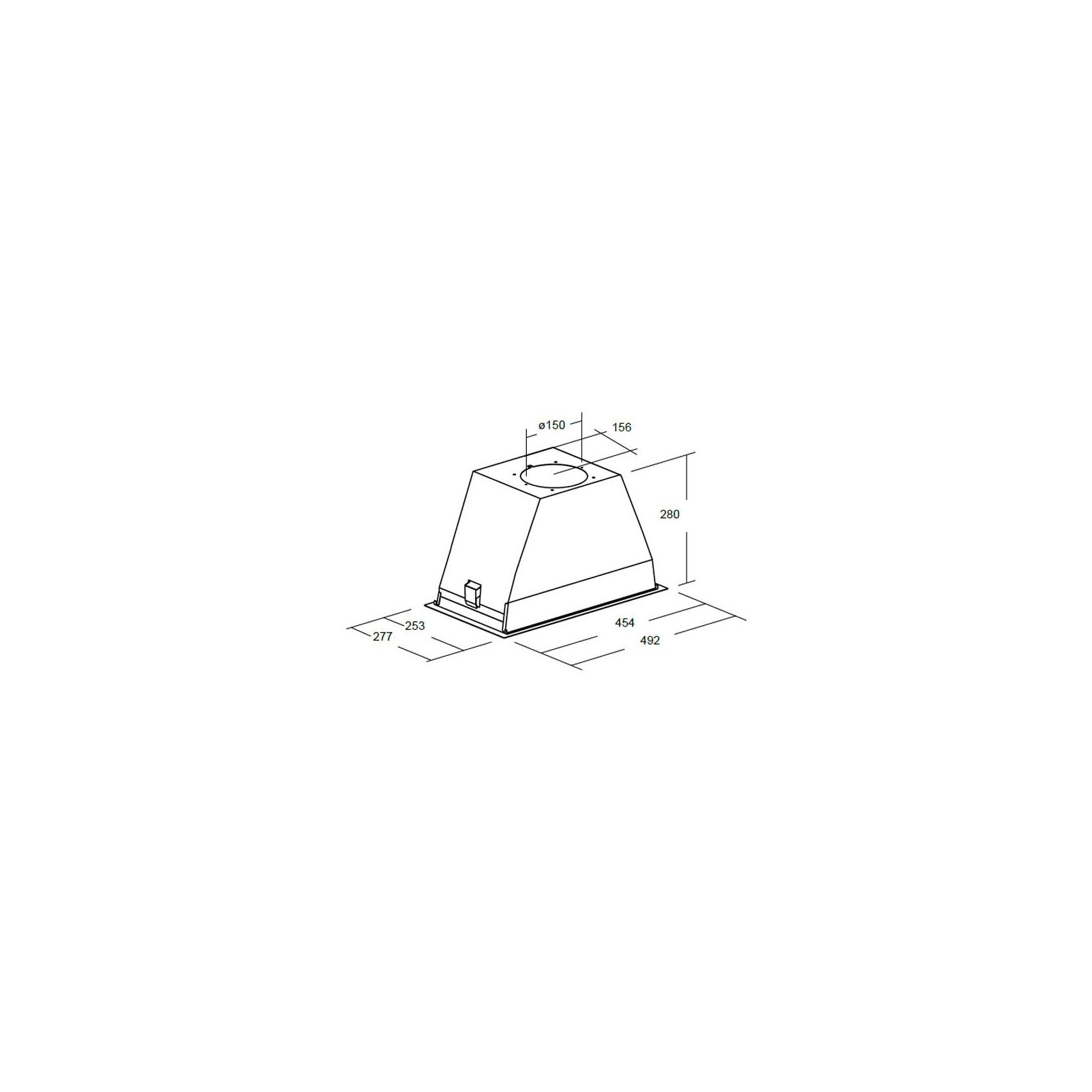 Вытяжка кухонная CATA GT-PLUS 45 WH/C изображение 4