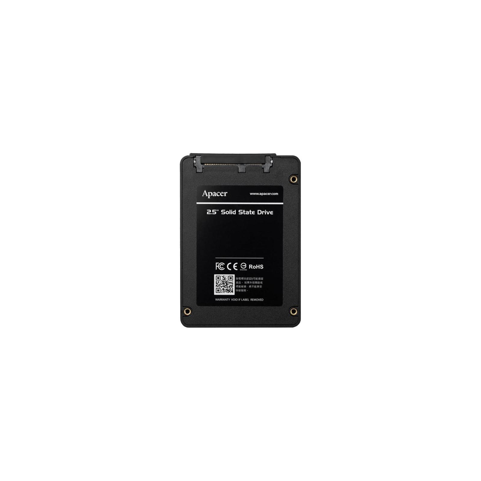 """Накопитель SSD 2.5"""" 480GB Apacer (AP480GAS340G-1) изображение 5"""