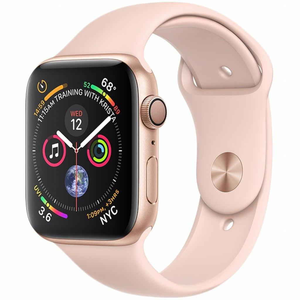 Смарт-часы Apple Watch Series 4 GPS, 44mm Gold Aluminium Case (MU6F2UA/A)