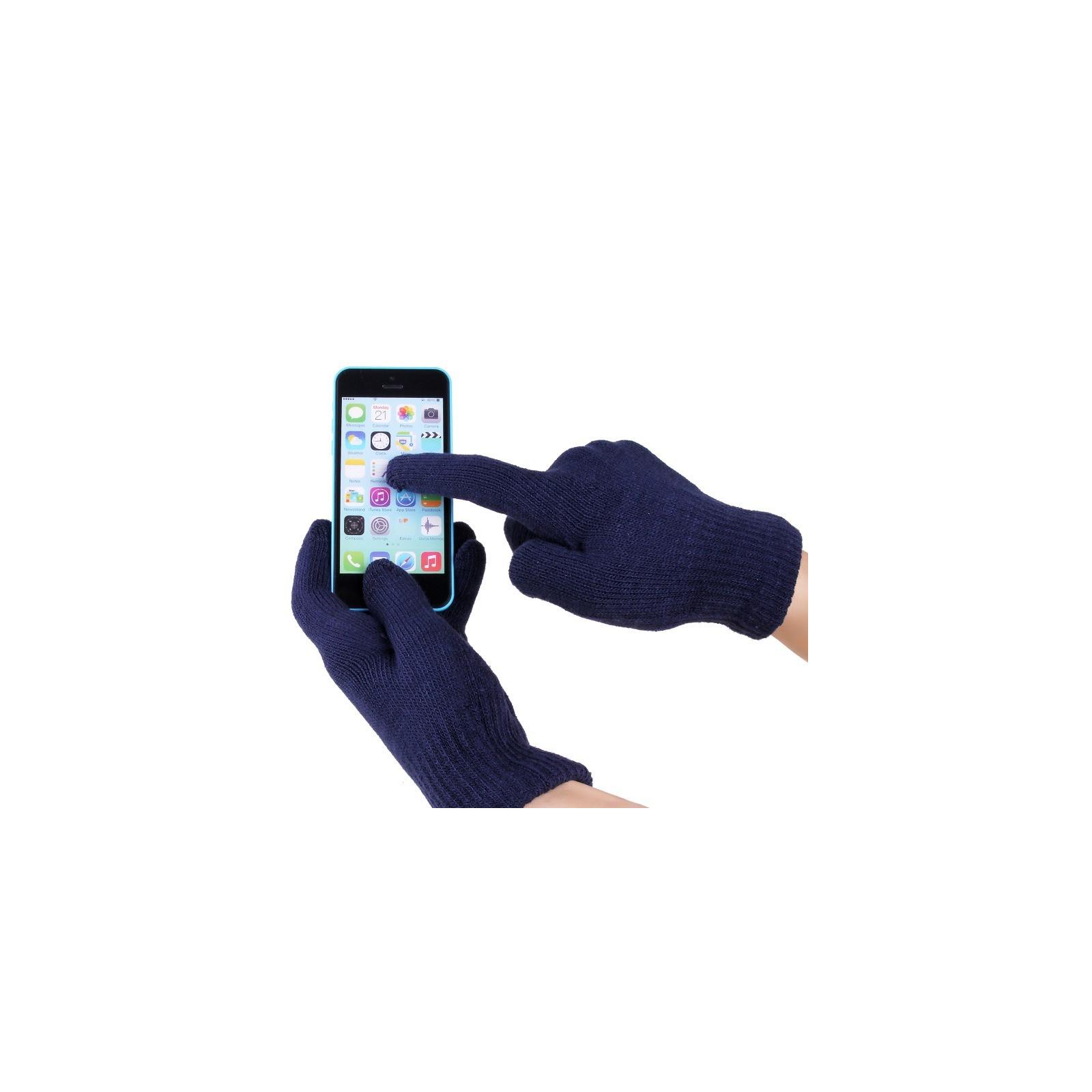 Перчатки для сенсорных экранов iGlove Navy (4822356754399) изображение 2
