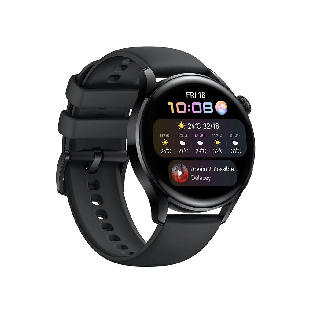 Смарт-годинник Huawei Watch 3 Black (55026820) зображення 3